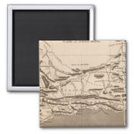 Cape Colony Map by Arrowsmith 2 Inch Square Magnet