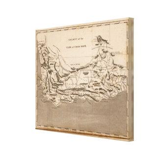 Cape Colony Map by Arrowsmith Canvas Print