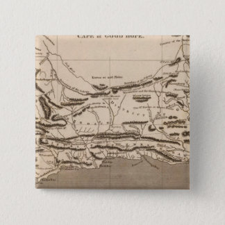 Cape Colony Map by Arrowsmith Pinback Button