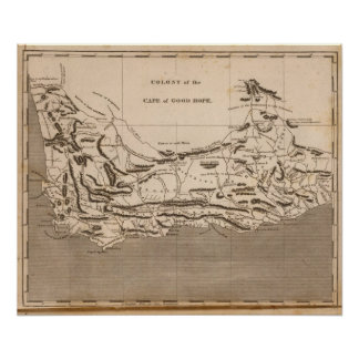 Cape Colony Map by Arrowsmith Posters