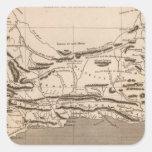 Cape Colony Map by Arrowsmith Square Sticker