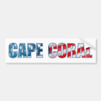 Cape Coral Bumper Sticker
