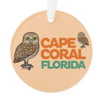 Cape Coral Burrowing Owls Ornament