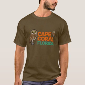 Cape Coral Burrowing Owls T-Shirt