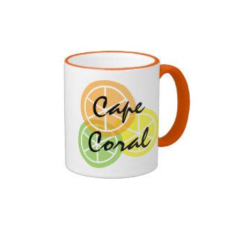 Cape Coral FL Citrus OrangeLimeLemon Coffee Mug