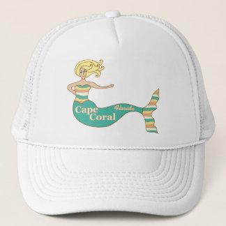 Cape Coral, FL Mermaid Trucker Hat