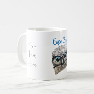 Cape Coral Florida Adorable Burrowing Owl Artwork Coffee Mug