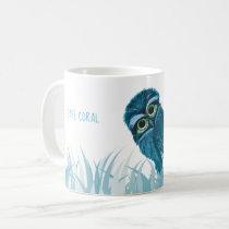 Cape Coral Florida Burrowing Owl Art Coffee Mug