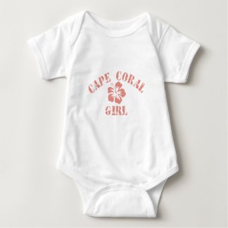 Cape Coral Pink Girl Baby Bodysuit