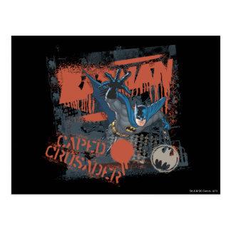 Cape Crusader Collage Postcard