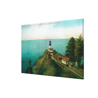 Cape Disappointmen Light House Canvas Print