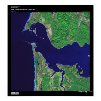 Cape Disappointment, WA Poster