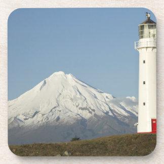 Cape Egmont Lighthouse and Mt Taranaki / Mt Coaster