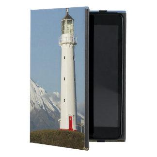 Cape Egmont Lighthouse and Mt Taranaki / Mt iPad Mini Cases