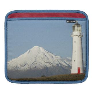 Cape Egmont Lighthouse and Mt Taranaki / Mt iPad Sleeves