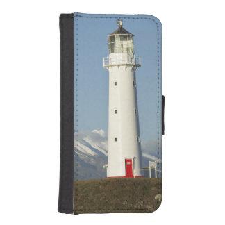Cape Egmont Lighthouse and Mt Taranaki / Mt iPhone SE/5/5s Wallet Case