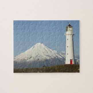 Cape Egmont Lighthouse and Mt Taranaki / Mt Jigsaw Puzzle