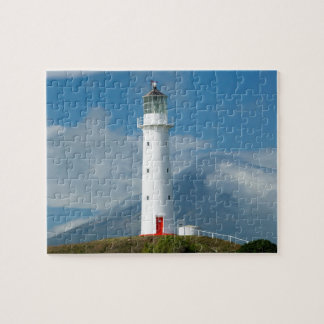 Cape Egmont Lighthouse and Mt Taranaki/Mt Jigsaw Puzzle