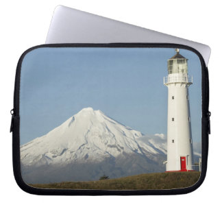 Cape Egmont Lighthouse and Mt Taranaki / Mt Laptop Computer Sleeve