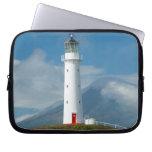 Cape Egmont Lighthouse and Mt Taranaki/Mt Laptop Sleeve