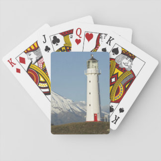 Cape Egmont Lighthouse and Mt Taranaki / Mt Playing Cards