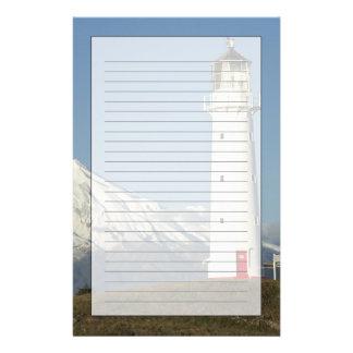 Cape Egmont Lighthouse and Mt Taranaki / Mt Stationery