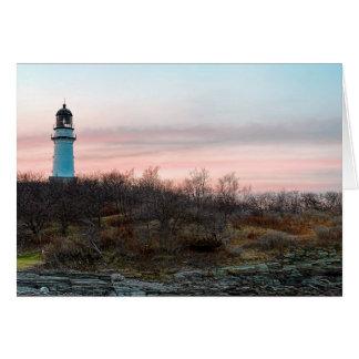 Cape Elizabeth Light Card