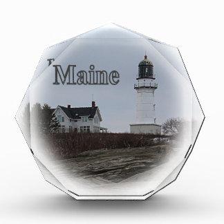 Cape Elizabeth Lighthouse Acrylic Award