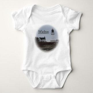 Cape Elizabeth Lighthouse Baby Bodysuit