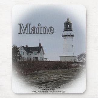Cape Elizabeth Lighthouse Mouse Pad