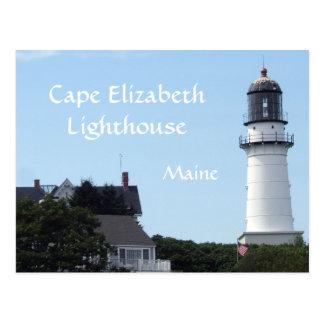 Cape Elizabeth Lighthouse Postcard
