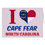 Cape Fear, North Carolina Greeting Card