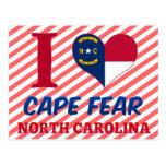 Cape Fear, North Carolina Postcards