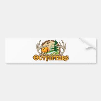 Cape Fear Outfitters Car Bumper Sticker