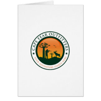 Cape Fear Outfitters Logo Card
