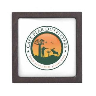 Cape Fear Outfitters Logo Keepsake Box