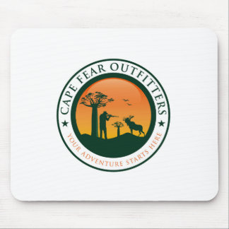 Cape Fear Outfitters Logo Mouse Pad