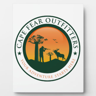 Cape Fear Outfitters Logo Plaque