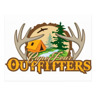 Cape Fear Outfitters Postcard