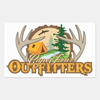 Cape Fear Outfitters Sticker Rectangular Sticker