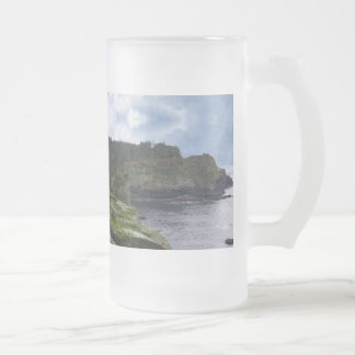 Cape Flattery Olympic Peninsula - Washington Frosted Glass Beer Mug