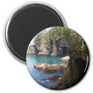 Cape Flattery WA Photo Art West Coast Pacific NW 2 Inch Round Magnet