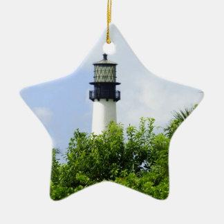 Cape Florida Light Ceramic Ornament
