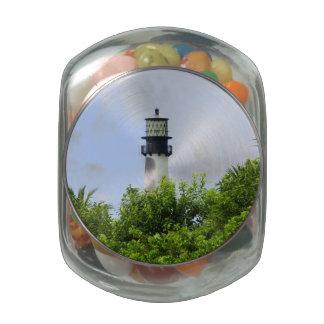 Cape Florida Light Jelly Belly Candy Jars