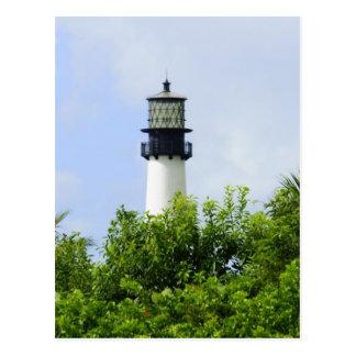 Cape Florida Light Postcard