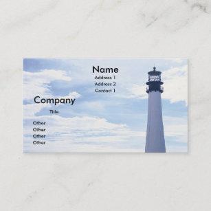 Lighthouse business cards zazzle cape florida lighthouse business card colourmoves