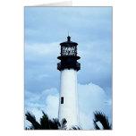 Cape Florida Lighthouse Card