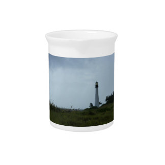 Cape Florida Lighthouse Drink Pitcher