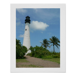 Cape Florida Lighthouse II Poster