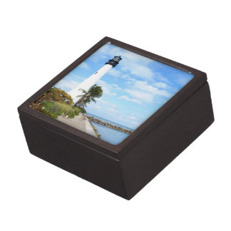 Cape Florida Lighthouse Jewelry Box
